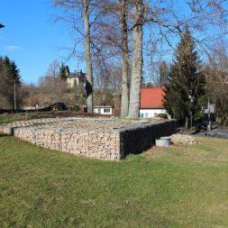 bau der gabionen terrasse20 - Der Bau unserer Gabionen Terrasse zum Abfang des Hangs