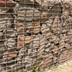 bau der gabionen terrasse26 - Der Bau unserer Gabionen Terrasse zum Abfang des Hangs
