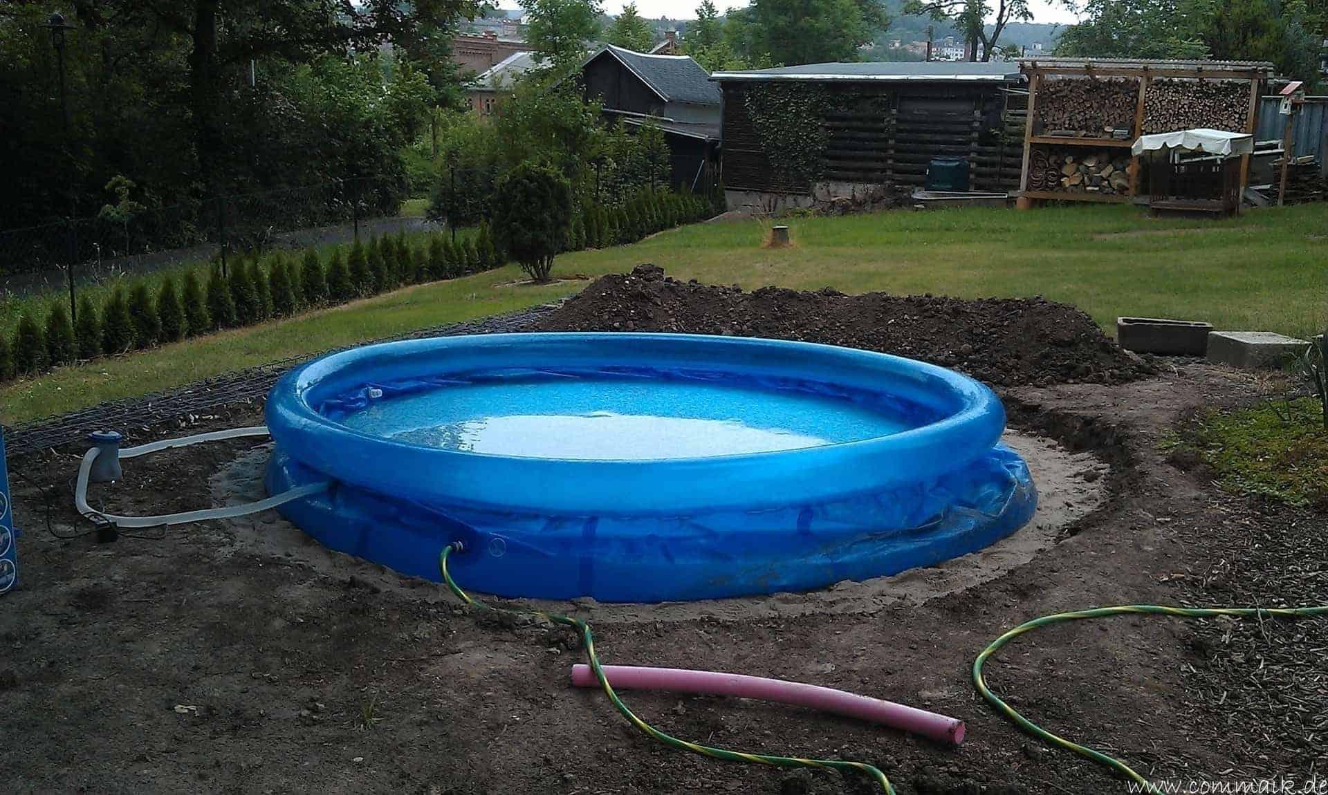 Top Projekt Pool-Terrasse – Der Beginn | commaik JR57