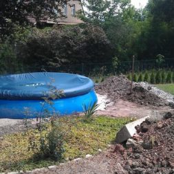 projekt pool terrasse 19 - Projekt Pool-Terrasse - Der Beginn
