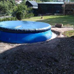 projekt pool terrasse 2 - Projekt Pool-Terrasse - Der Beginn