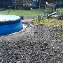 projekt pool terrasse 23 - Projekt Pool-Terrasse - Der Beginn