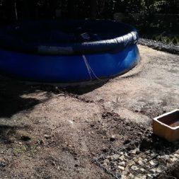 projekt pool terrasse 3 - Projekt Pool-Terrasse - Der Beginn