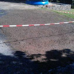 rasenanlegen nach dem trockenlegen 1 - Trockenlegung des Hauses - Einbringen von Drainage und Wasserrohren