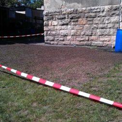 rasenanlegen nach dem trockenlegen 4 - Trockenlegung des Hauses - Einbringen von Drainage und Wasserrohren