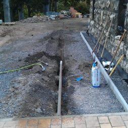 pflasterweg zum hintereingang anlegen 16 - Ein neuer Pflasterweg zum Hintereingang entsteht