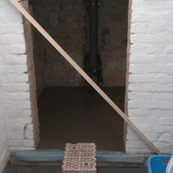 toilette im keller mit trockenbau 15 - Die Toilette im Keller wird endlich fertig