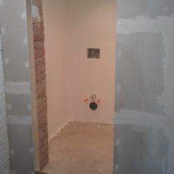 toilette im keller mit trockenbau 26 - Im Keller wird eine Toilette mit Trockenbau realisiert