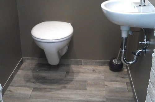 toilette im keller mit trockenbau 36 - Im Keller wird eine Toilette mit Trockenbau realisiert