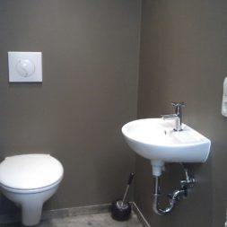 toilette im keller mit trockenbau 37 - Im Keller wird eine Toilette mit Trockenbau realisiert