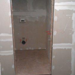 toilette im keller mit trockenbau 6 - Im Keller wird eine Toilette mit Trockenbau realisiert