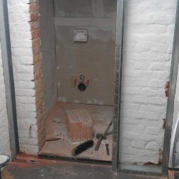 toilette im keller mit trockenbau 1 - Die Toilette im Keller wird endlich fertig