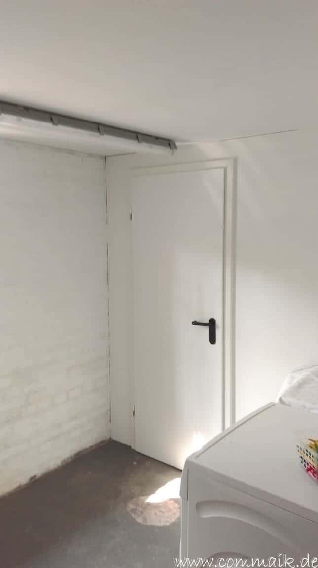 toilette im keller mit trockenbau 42 - Die Toilette im Keller wird endlich fertig