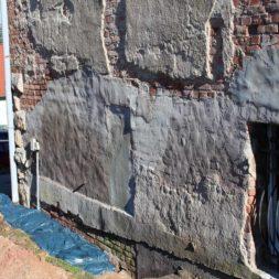 IMG 4685 - Die Nord-Fassade wird neu verputzt
