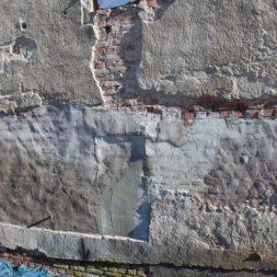IMG 4687 - Die Nord-Fassade wird neu verputzt
