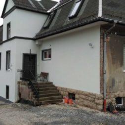 neuverputzen der nord fassade 491 - Die Nord-Fassade wird neu verputzt