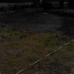 bau eines blockbohlenhaus im garten 10 - Der Bau einer Blockbolengarage im Garten