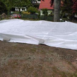bau eines blockbohlenhaus im garten 19 - Der Bau einer Blockbolengarage im Garten