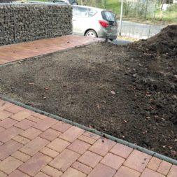 bau eines blockbohlenhaus im garten 2 - Der Bau einer Blockbolengarage im Garten