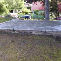 bau eines blockbohlenhaus im garten 22 - Der Bau einer Blockbolengarage im Garten