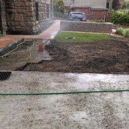 bau eines blockbohlenhaus im garten 27 - Der Bau einer Blockbolengarage im Garten