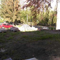 bau eines blockbohlenhaus im garten 3 - Der Bau einer Blockbolengarage im Garten