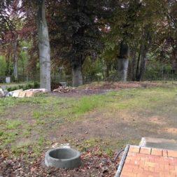 bau eines blockbohlenhaus im garten 5 - Der Bau einer Blockbolengarage im Garten