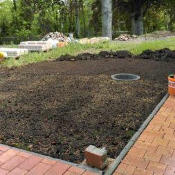 bau eines blockbohlenhaus im garten 8 - Der Bau einer Blockbolengarage im Garten