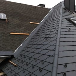 dach mit prefa alublech eindecken 100 - Der PREFA Stier kommt auf das Dach