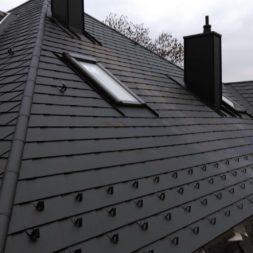 dach mit prefa alublech eindecken 101 - Der PREFA Stier kommt auf das Dach