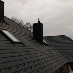 dach mit prefa alublech eindecken 102 - Der PREFA Stier kommt auf das Dach