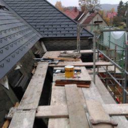 dach mit prefa alublech eindecken 104 - Der PREFA Stier kommt auf das Dach