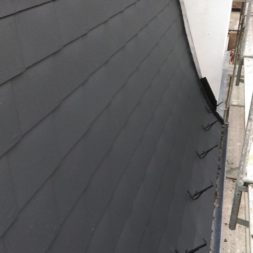 dach mit prefa alublech eindecken 106 - Der PREFA Stier kommt auf das Dach
