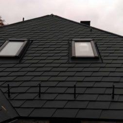 dach mit prefa alublech eindecken 110 - Der PREFA Stier kommt auf das Dach
