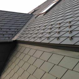 dach mit prefa alublech eindecken 114 - Der PREFA Stier kommt auf das Dach