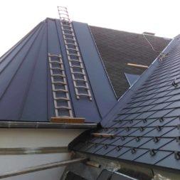dach mit prefa alublech eindecken 116 - Der PREFA Stier kommt auf das Dach
