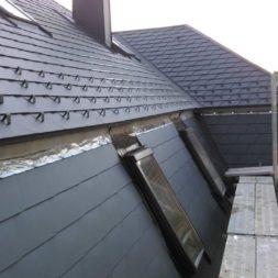dach mit prefa alublech eindecken 117 - Der PREFA Stier kommt auf das Dach