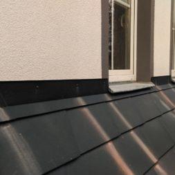 dach mit prefa alublech eindecken 118 - Der PREFA Stier kommt auf das Dach