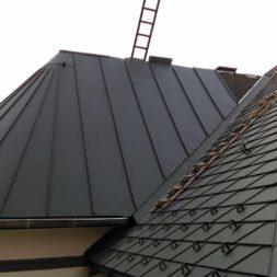 dach mit prefa alublech eindecken 121 - Der PREFA Stier kommt auf das Dach