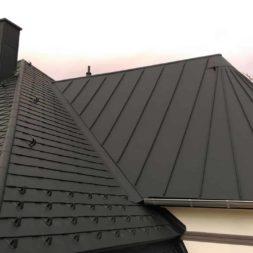dach mit prefa alublech eindecken 125 - Der PREFA Stier kommt auf das Dach