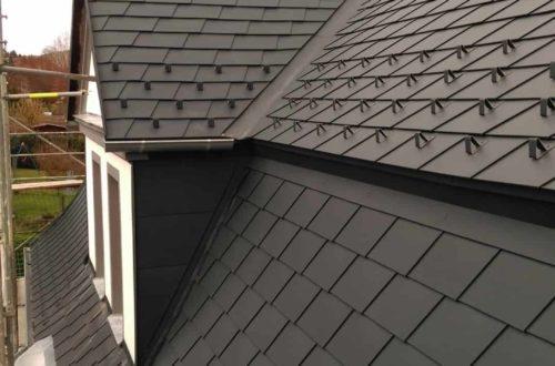 dach mit prefa alublech eindecken 126 - Der PREFA Stier kommt auf das Dach
