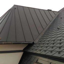 dach mit prefa alublech eindecken 128 - Der PREFA Stier kommt auf das Dach