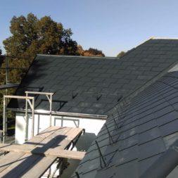 dach mit prefa alublech eindecken 32 - Der PREFA Stier kommt auf das Dach