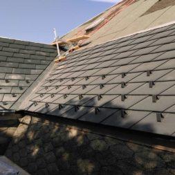 dach mit prefa alublech eindecken 34 - Der PREFA Stier kommt auf das Dach