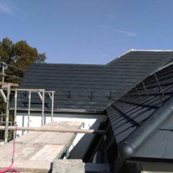 dach mit prefa alublech eindecken 36 - Der PREFA Stier kommt auf das Dach