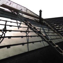 dach mit prefa alublech eindecken 37 - Der PREFA Stier kommt auf das Dach