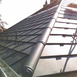 dach mit prefa alublech eindecken 38 - Der PREFA Stier kommt auf das Dach