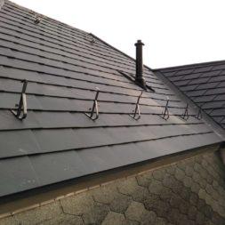 dach mit prefa alublech eindecken 43 - Der PREFA Stier kommt auf das Dach