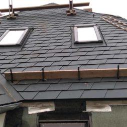 dach mit prefa alublech eindecken 46 - Der PREFA Stier kommt auf das Dach