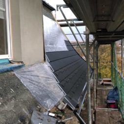 dach mit prefa alublech eindecken 53 - Der PREFA Stier kommt auf das Dach